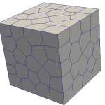 Displacement based formulation over arbitrary polygon and polyhedra